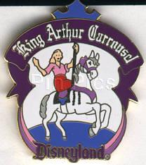Disney DL - 1998 King Arthur Carrousel ride pin/pins