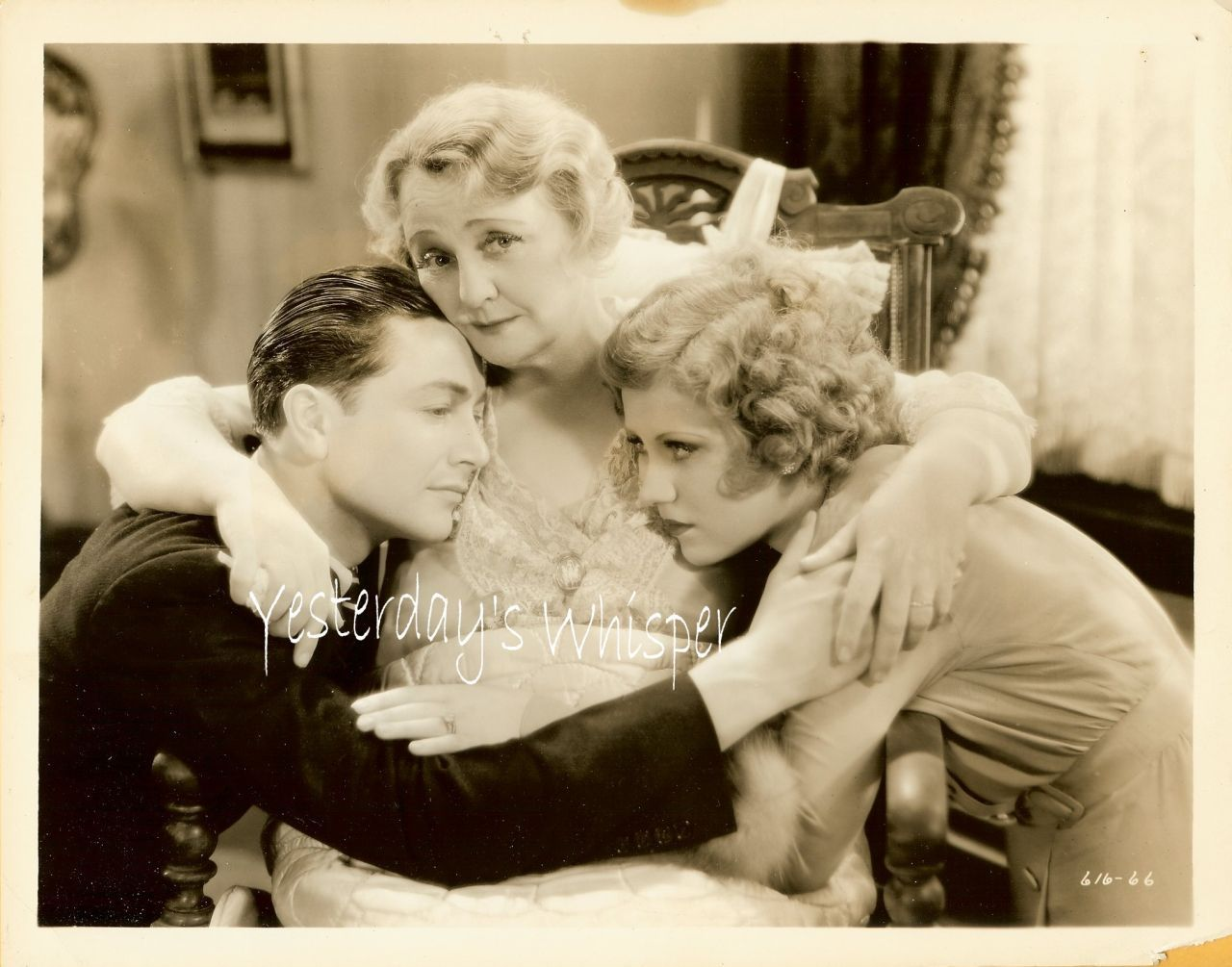 Robert Young Ruth Selwyn Pre-code 1932 Movie Photo