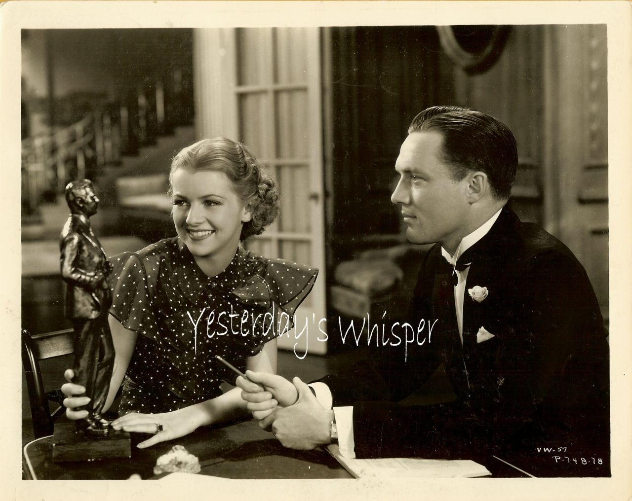 Betty Furness Life of Vergie Winters 1934 Movie Photo