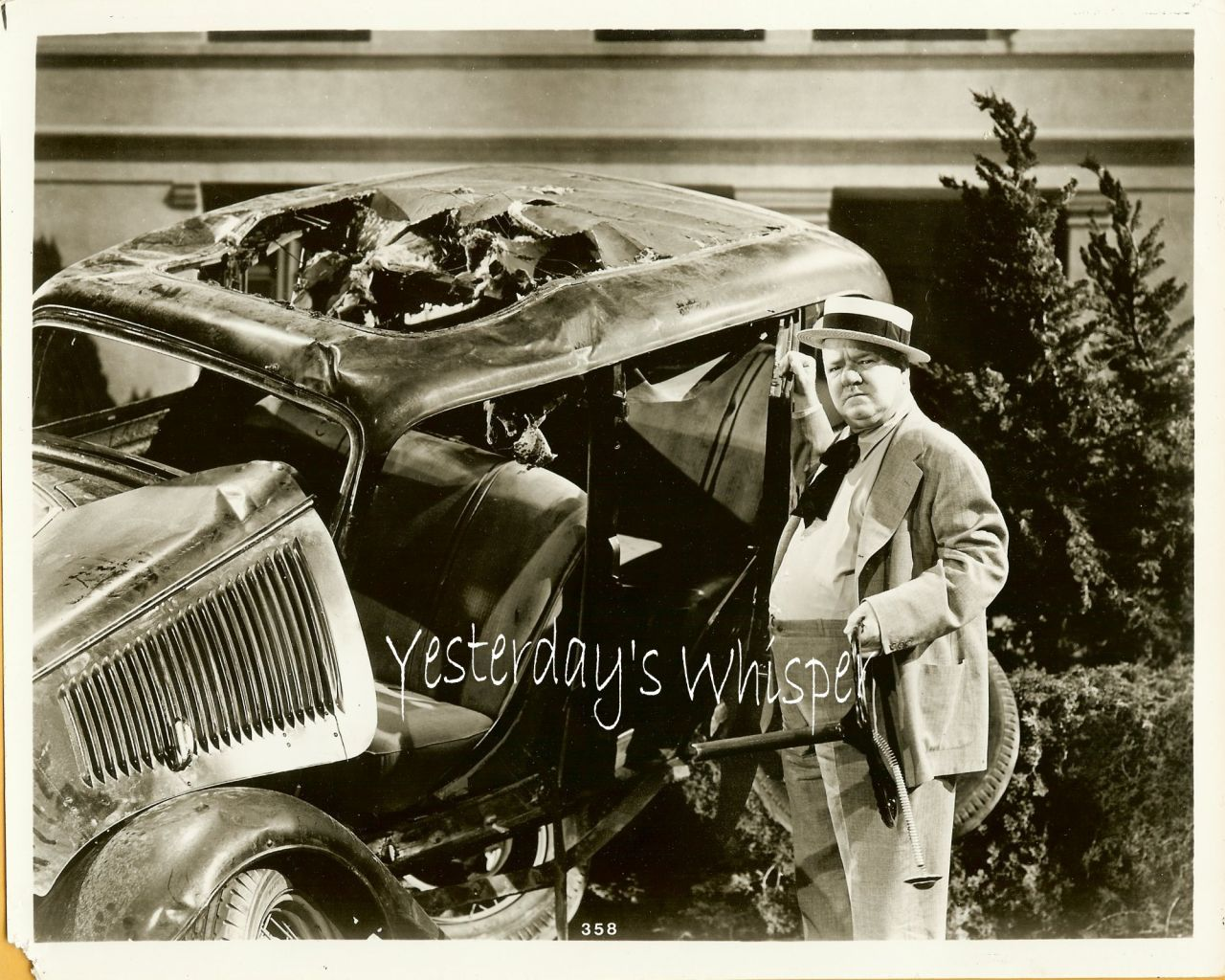 W.C. Fields Unknown film 1930 Movie Publicity Photo