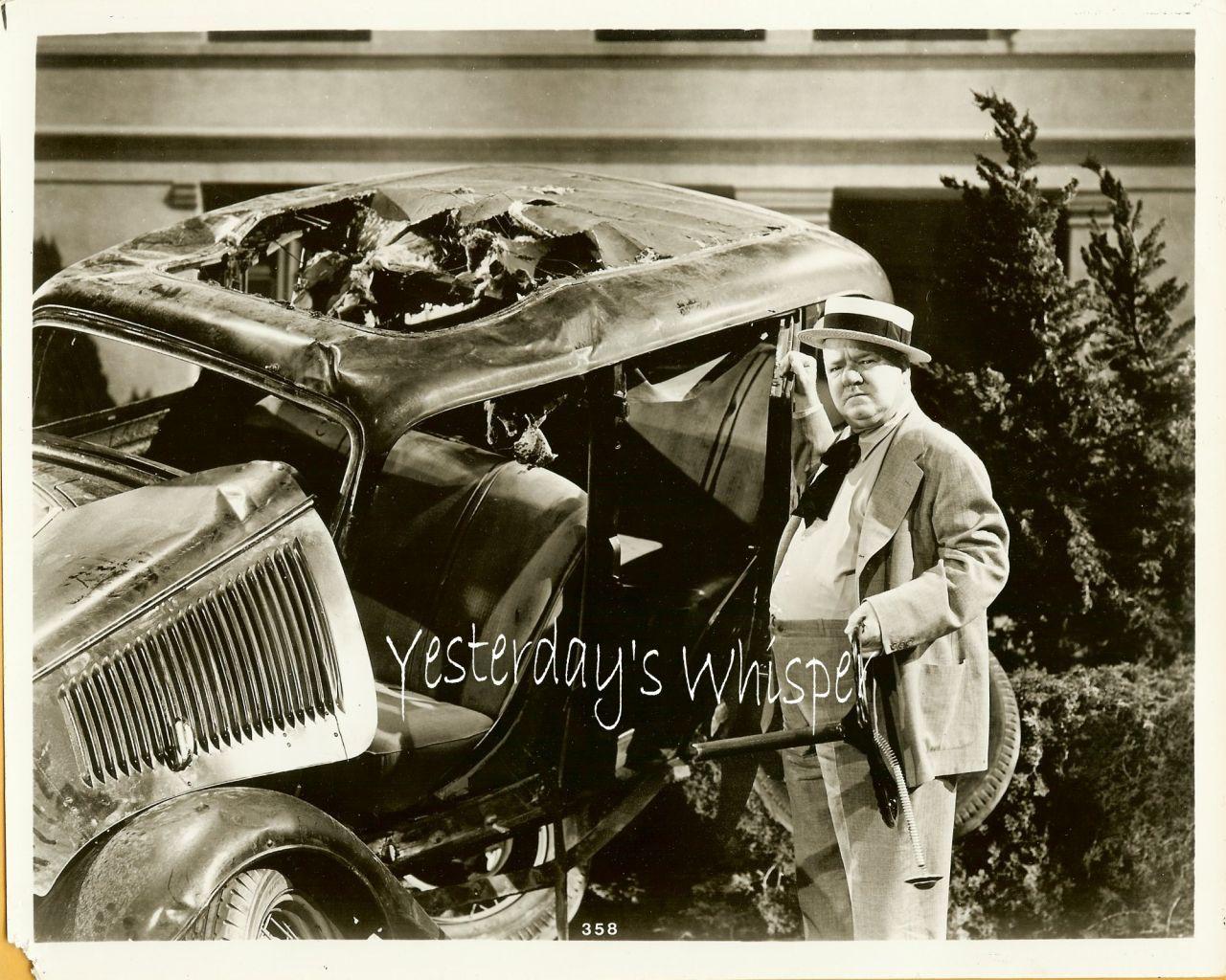 W.C. Fields Unknown film 1930 Movie Publicity Photo