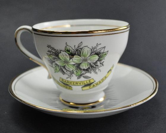 Barkerville BC Canada Royal Ascot souvenir cup saucer