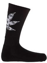 Crooks & Castles Mens Paisleaf Socks Black Bandana Weed Leaf Pot NWT