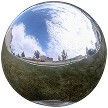 Lily's Home® Gazing Globe Mirror Ball in Silver Stainless Steel. 8 Inch - $40.60