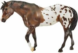 Breyer Traditional 70th Anniversary Model Native Pony appaloosa in hand <> - $53.20