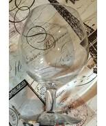 VAL SAINT LAMBERT icanvas Vintage White Wine Crystal Glasses Set Of 6 - $68.99