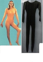 ADULT UNITARD BLACK LADIES MEDIUM FULL BODY SUIT - $60.00