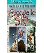 Warren Miller's  Escape to Ski VHS - $19.59