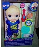 """Baby Alive SUPER SNACKS SNACKIN' LUKE 12"""" Doll New - $16.50"""