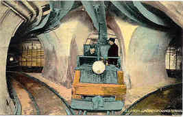 Illinois Underground Railroad Tunnel 1911 Post Card - $6.00