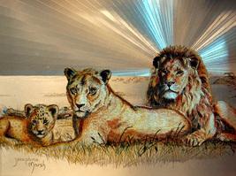 Lion Family (Dufex Foil Print #654030) - $4.99