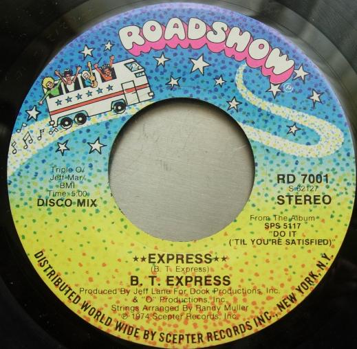 B. T. EXPRESS - Express - Roadshow RD 7001