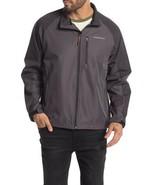Hawke & Co. Zip Pocket Jacket Men's Small Water Resistant Phantom Iron Gray - $21.78