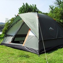 Camping Tent 200*200*130cm Double Layer Weather Resistant Outdoor 3 - 4 ... - $130.46