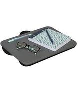 LapGear Essential Lap Desk - Pinstripe Gray (Fits Upto 13.3 Laptop) - $24.14