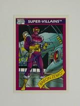 Marvel Universe 1990 Series 1 52 Kingpin Trading Card Super-Villains - $1.97