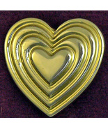 The Variety Club Heart Pin Goldtone Vintage  - $4.50