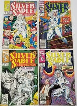 GI) Lot of 4 Marvel Silver Sable & the Wild Pack Comic Books - $9.89