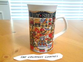 "Royal Norfolk Christmas Mug ""Toy Shop""  4.75"" Tall, 3"" Diameter - $5.99"
