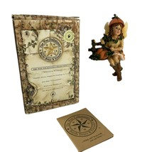 Boyds Wee Folkstones Autumn L Faeriefrost Figurine Shelfsitter 36005 Fal... - $17.82