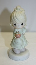 Precious Moments Figurine 1989 Yield Not To Temptation #152310 - $12.86