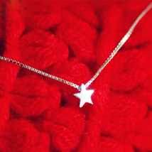 Sterling Silver Little Stars Necklaces & Pendants For Women Fashion Lady  - $17.35