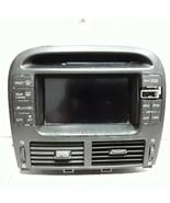 01 02 03 Lexus LS430 GPS navigation temperature display screen OEM 86111... - $296.99