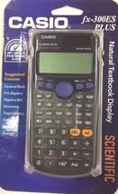 CASIO - FX-300ES PLUS - SCIENTIFIC Calculator - BLACK - $14.80