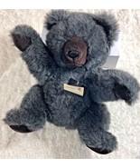"24K 24 Karat Plush Gray Bear Special Effects 15"" Tall 1988 Stuffed Toy A... - $27.73"