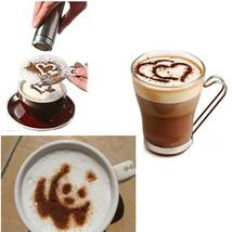 16pcs Coffee Stencil Filter Coffee Maker Cappuccino Coffee Barista Mold ... - $12.00