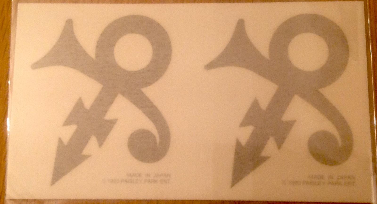 Prince Gold Symbol Tattoos 1993 Paisley And 16 Similar Items