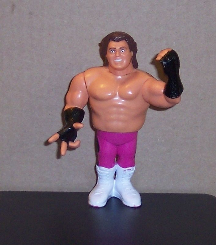 "Primary image for Vintage 1990 Hasbro WWF ""BRUTUS BEEFCAKE"" 4.5"" Action Figure Series #1 WCW WWE"