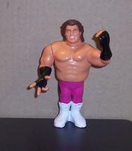 "Vintage 1990 Hasbro WWF ""BRUTUS BEEFCAKE"" 4.5"" Action Figure Series #1 W... - $7.85"