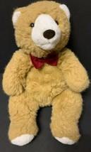 "Commonwealth Teddy Bear Plush Stuffed Animal Brown with Red Bowtie 21"" Dapper - $19.37"