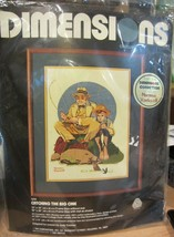 Dimension Norman Rockwell Catching the big one Crewel kit NEW - $21.80