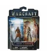 Warcraft Mini Figure Garona & Lothar Civilian Action Figures (2 Pack) - $3.95