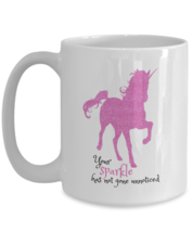 Pink Unicorn Coffee Mug - Your Sparkle Has Not Gone Unnoticed - Daughter... - $19.50+