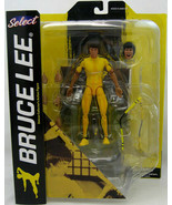 Bruce Lee 7 Inch Action Figure - Yellow Jumpsuit Diamond Select NIP DSG146 - $50.00