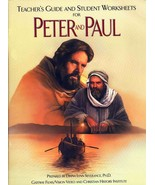 Peter and Paul Teacher Guide And Student Worksheets Brand NEW Curriculum... - $10.14