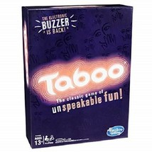 Hasbro Taboo Game The Classic Game of Unspeakable Fun NEW - $18.66