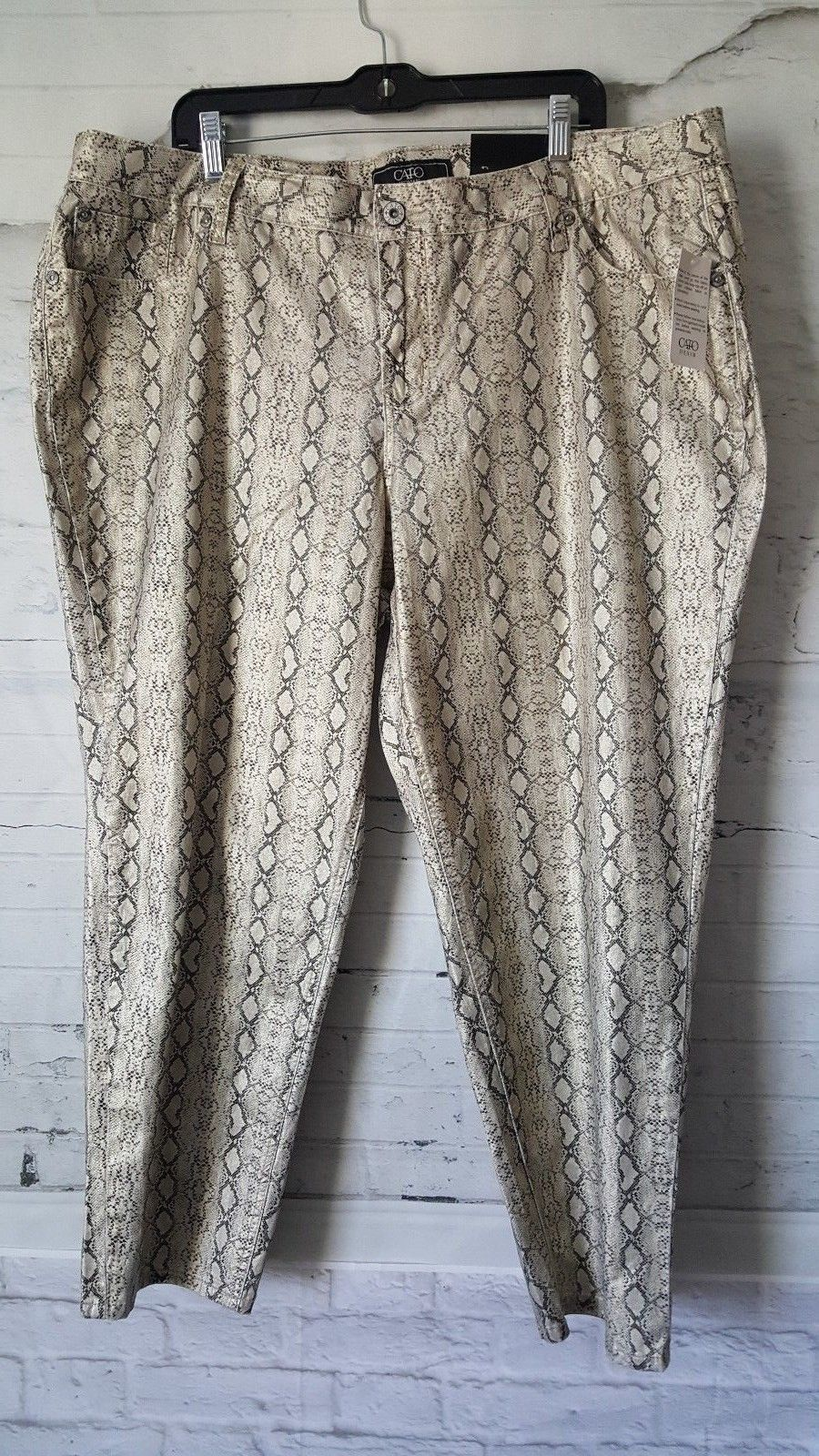2c286c729b Cato Women's Snake Print Casual Pants Size and 50 similar items