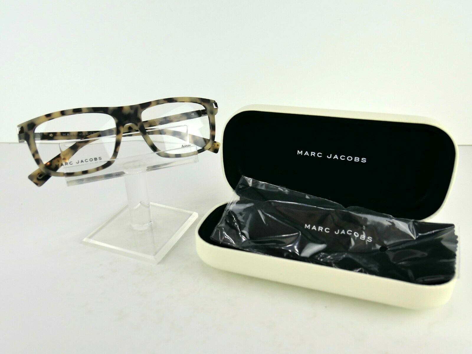Primary image for Marc by Marc Jacobs MARC 178 (XL7) Havana Beige 53 x 17 145 Eyeglass Frames