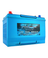 Lithium Deep Cycle Marine Battery Replaces D27M 8027-127 Group 27 - $466.08