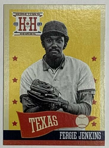 Primary image for 2013 Panini Hometown Heroes #258 Fergie Jenkins Texas Rangers Baseball Card