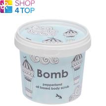 Pepperland Body Scrub 365 Ml Bomb Cosmetics Lemongrass Clary Sage New - $16.35