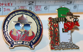 RCMP 2x Coastal Watch Airport Lighthouse Canada Mounted Police Collectib... - $20.07