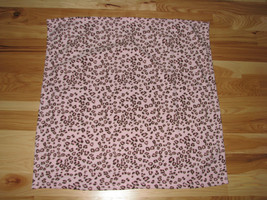Baby Starters Pink Leopard Microfleece Micro Fleece Plush Girl Blanket Brown - $25.33