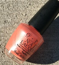 Opi Nail Lacquer Polish Melon Of Troy Nl G12 (2004 Greek Isles Collection) New - $47.50