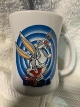 Six Flags Magic Mountain Bugs Bugs Bunny Coffee Mug Cup Warner Bros Embo... - $9.89
