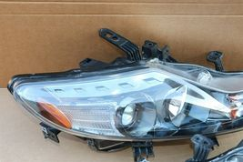09-14 Nissan Murano Halogen Headlight Head lights Lamps Set L&R MINT image 4